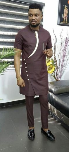 Latest African Men Fashion, Latest African Wear For Men, African Shirts For Men, African Dresses Men, Nigerian Men Fashion, African Attire For Men, African Clothing For Men, African Shirt Dress, Africa Fashion