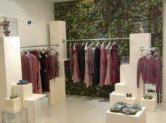 2012: Harvey Nichols unveiled a botanical inspired installation to showcase the ethical fashion brand EDUN.