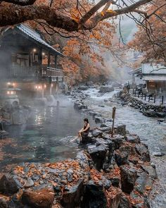 Онсэн – секрет молодости по-японски | Let's go somewhere | Яндекс Дзен Gunma, Aesthetic Japan, Travel Aesthetic, Travel Photographie, Go To Japan, Japan Japan, Japan Trip, Visit Japan, Beautiful Places To Travel