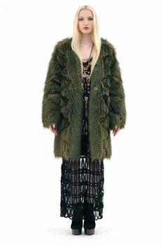 vintage faux fur