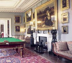 English Billiard Room