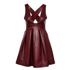 Кожа в этом сезоне на острие популярности. Причем это не только юбки и куртки, практически не выходящие из моды. Сегодня стоит нарядиться в кожаное платье.#asos #must_have, #trends