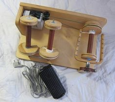 Tabatawolle: Biete Elektrospinner Louet S30