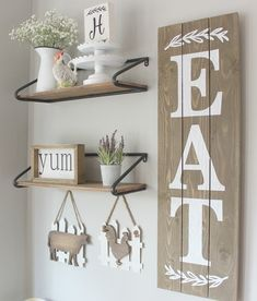The Basic Facts of Farmhouse Kitchen Wall Decor When it has to do with kitchen decor, backsplashes are a critical part of a fantastic and cozy design. There are several sorts of farmhouse kitchen wall decor. The farmhouse kitchen wall… Continue Reading → Kitchen Gallery Wall, Kitchen Wall Art, Wooden Kitchen, Modern Kitchen Wall Decor, Dining Room Wall Decor, Farmhouse Kitchen Decor, Diy Wall Decor, Home Decor, Vintage Farmhouse