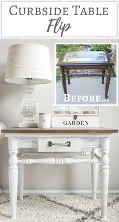 Simply Beautiful by Angela: Curbside Table Flip