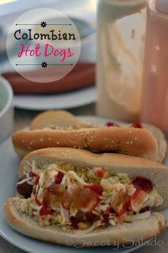 Colombian Hot Dogs - Hispanic Kitchen