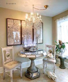 Interiors, Design A little Glitz and Glamour.  www.ourhomesmagazine.com