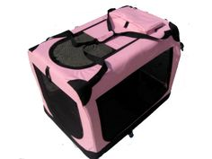 Cnlinkco 36' Portable Pink Pet Dog House Soft Crate Carrier ** See this awesome image  : Dog house