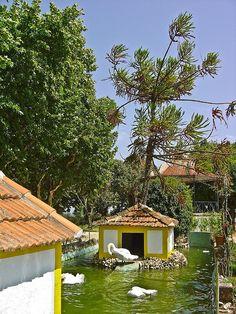 Jardim do Castelo de Abrantes - Portugal