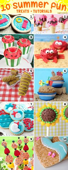 These adorable summer treats all have a step-by-step tutorial so you can make them too!
