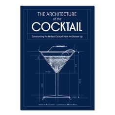 Architecture of a Cocktail - Hardcover Book