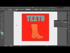 (930) Illustrator 125 Efecto costura en texto y siluetas - YouTube Illustrator Video, Illustrator Tutorials, Software, Youtube, Desktop Screenshot, Texts, Drawing Board, Silhouettes, Dressmaking