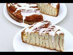 Jättimäisestä kanelirullasta riittää herkkua isollekin porukalle | Newsner Good Food, Yummy Food, Yummy Recipes, Cinnamon Bun Cake, Cinnamon Scrolls, Muffin Bread, Cake Youtube, Cupcake Cakes, Cupcakes