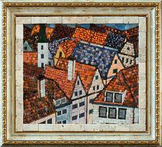 Mosaic.Черепичные крыши
