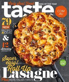 @teamtaste #magazines #covers #may #2017 #recipes #food #meals #family #budget #easy #lasagne