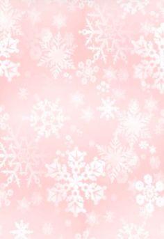 Pink snowflake iPhone wallpaper