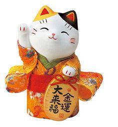 錦彩ちりめん小判招き猫(金運)