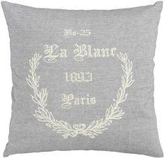Parisian Inspired Throw Pillow