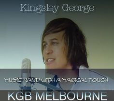 Kingsley George - Live Music & Fun - Melbourne Bands