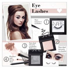 """""""Eyelashes:Nars"""" by alves-nogueira ❤ liked on Polyvore featuring beauty, NARS Cosmetics, H&M, L'Oréal Paris, It Cosmetics, Bare Escentuals, Beauty, eyes, NARS and polyvoreeditorial"""