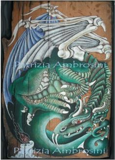 Dragone   ACEO Limited ed.