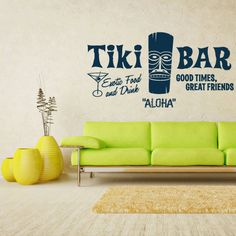 Wall Decal vinyle autocollant Stickers Aloha par StickersForLife, $28.99