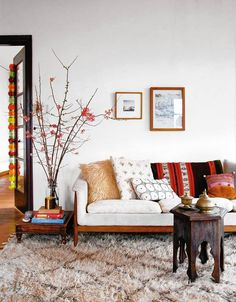 The Enduring Appeal of 'Bohemian Modern' Décor - #interiordesign & #homedecor #rugs #furniture #decorating your #home #loveofrugs