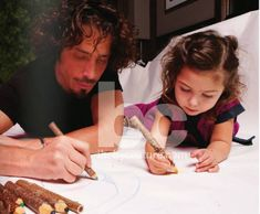 Chris Cornell with his daughter, Toni