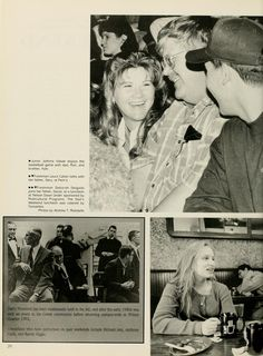 """Athena yearbook, 1996. """"Dad's Weekend has been traditionally held in the fall, and after the early 1980s was only an event in the Greek community before returning campus-wide in Winter Quarter 1992."""" :: Ohio University Archives"""