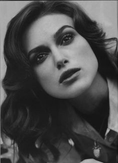 keira knightley. one of the most beautiful women ever. beauty inspiration all the way.