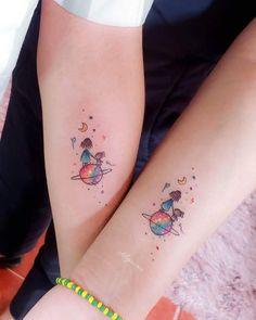 Subtle Tattoos, Dainty Tattoos, Pretty Tattoos, Beautiful Tattoos, Small Tattoos, Small Colorful Tattoos, Mutterschaft Tattoos, Body Art Tattoos, Hand Tattoos