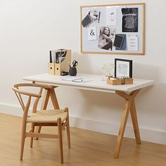 zanui desk chair hanging indoor 74 best work space images replica hans wegner wishbone white office you