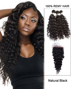 14 black blue ombre hair two tones hair weave body wave weft remy 7a virgin hair with closure natural black deep wave lace closure with hair bundles pmusecretfo Choice Image