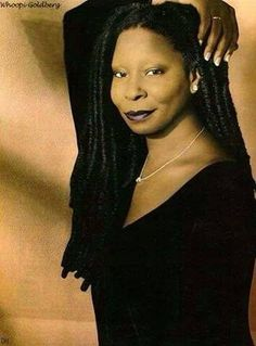 Whoopi Goldberg in beautiful dress. Whoopi Goldberg hosting The View. Black Actresses, Black Actors, Black Celebrities, Celebs, Whoopi Goldberg, My Black Is Beautiful, Beautiful People, Vintage Black Glamour, Queen Latifah