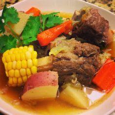 Sweetpea's Food Adventure: Caldo De Res (Beef Soup)