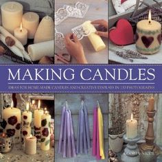 Making Candles: Ideas For Home-Made Candles and Creative Displays In 130 Photographs: Amazon.ca: Gloria Nicol: Books