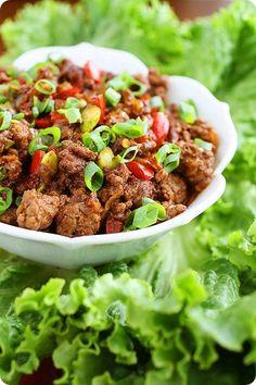 Asian Beef Lettuce Wraps Recipe