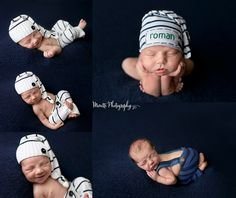 One week old baby boy photographed in Navy by Moretti photography. Ankeny / Des Moines, Central Iowa, Newborn & Baby Photographer