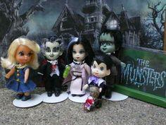 Liddle Kiddle OOAK Miniature The Munsters Happy Halloween | eBay