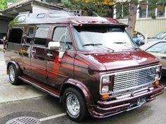 Conversion Vans Custom Car Show | Chevrolet Van G20 Show Van 5.7 V8 4st. Automat 1988