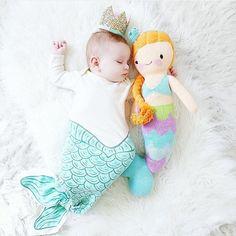 Mermaid nursery mermaid doll