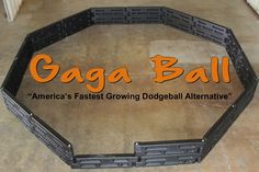 Gaga Ball is the fastest growing dodge-ball alternative, and is cropping up everywhere from camp grounds, schools, churches, child care facilities and more! Ball Pit Walls, New York State Parks, Park Playground, Crushed Stone, Camping Places, Indoor Play, Rubber Flooring, Outdoor Camping, Tent Camping