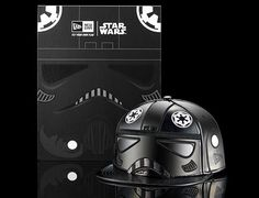 Black Tie Fighter Helmet 59Fifty Fitted Cap by NEW ERA x STAR WARS