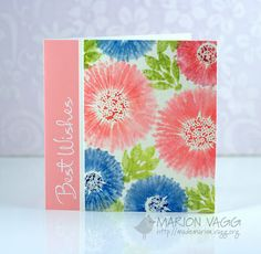 Annabelle Stamps Blog: Topical Tuesday #65 - Watercolour Flowers