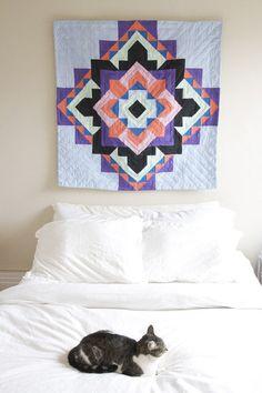 Mandala quilt by RIA | Ria Leigh Textiles