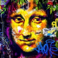 Mona Lisa had an upgrade .................................................. So  what would you like to comment?  #graffitipolice #street #streetphotography #sprayart #urban #urbanart #urbanwalls #wall #wallporn #graffitiigers #stencilart #art #graffiti #instagraffiti #instagood #artwork #mural #graffitiporn #photooftheday #stencil #streetartistry #stickerart #pasteup #instagraff #instagrafite #streetarteverywhere #love #fun #smile