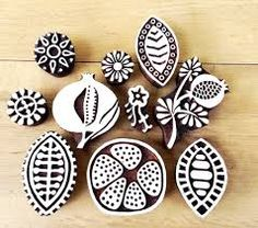 штамп, набойка, дерево цветы, семенаColouricious present wooden printing blocks, wooden stamps. This lovely pomegranate stamps set is for your creative craft ideas. Clay Stamps, Stamp Printing, Printing On Fabric, Stamp Carving, Fabric Stamping, Handmade Stamps, Linoprint, Mark Making, Linocut Prints