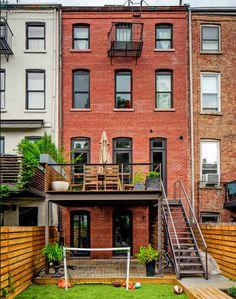 Une maison en briques rouges à Brooklyn | | PLANETE DECO a homes worldPLANETE DECO a homes world