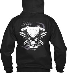Love at 1st sight black hoodie. Now you can get yours @teepsring : https://teespring.com/first-sight-love.    Warning!!!  For riders only