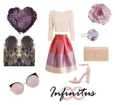"""""""Infinitus.."""" by ehlimana-alihodzic ❤ liked on Polyvore featuring Chicwish, Coast, Steve Madden, Yves Saint Laurent, Cynthia Rowley and Fendi"""
